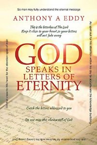 god speaks in letters of eternity